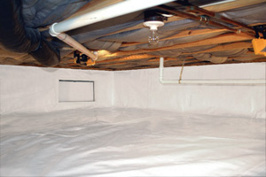 Crawl Space Repair After in Macon