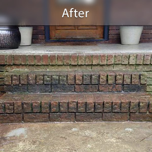 Sinking stairs repaired with PolyLevel® Columbus