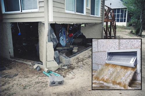 Foundation Flood Protection With Smart Vents Avoid Severe