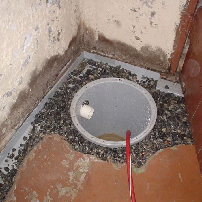 Installing A Sump In Pump Liner Savannah Home