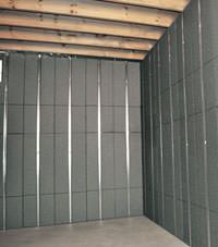 Thermal insulation panels for basement finishing in Savannah, Georgia and South Carolina